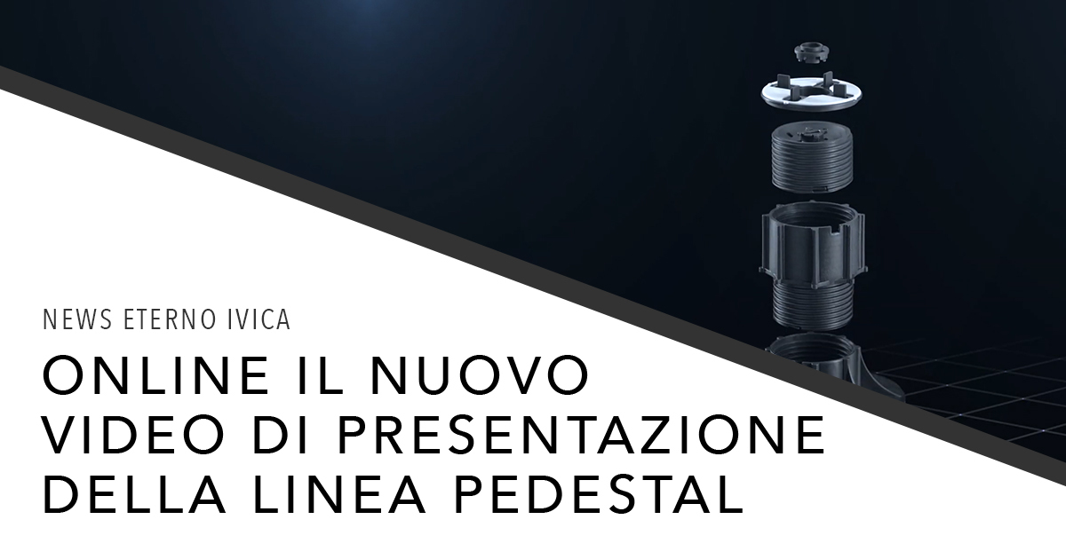 Novità Video per la linea PEDESTAL